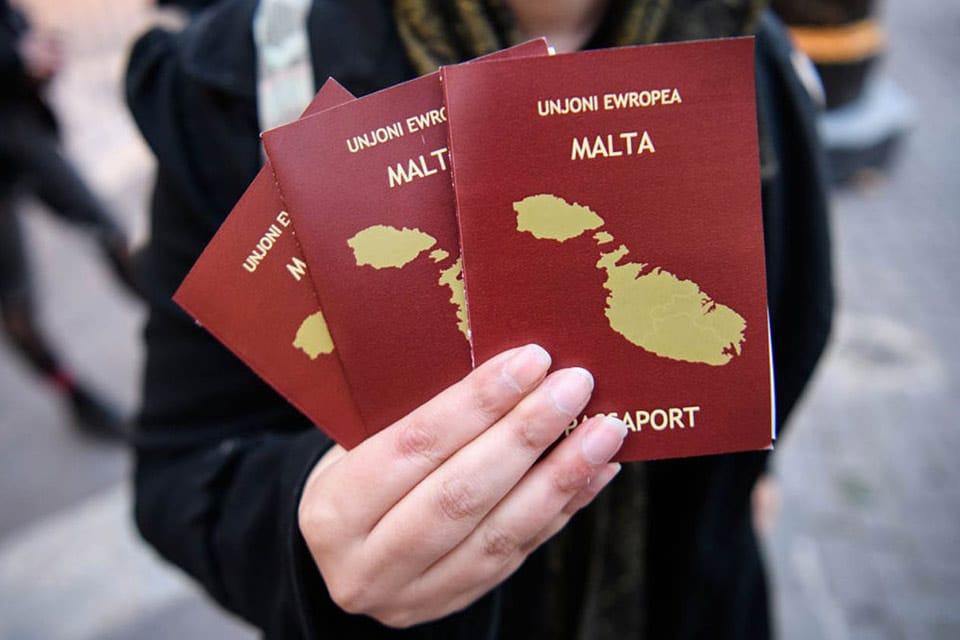 اخذ پاسپورت مالتا