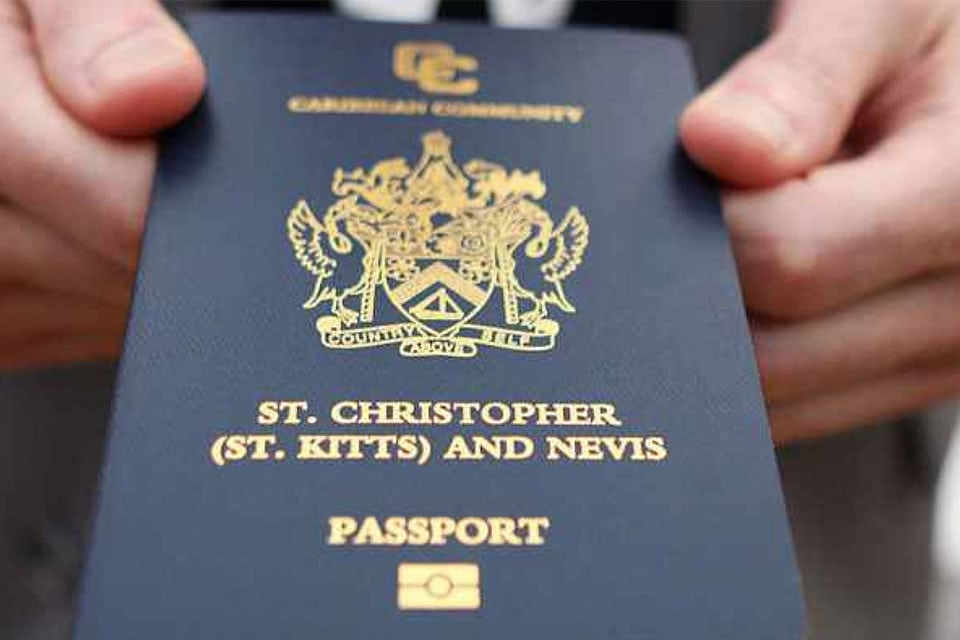 پاسپورت سینت کیتس