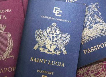 پاسپورت سینت لوسیا